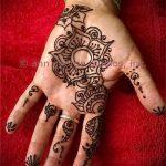 Фото Мехенди на ладони - 17062017 - пример - 013 Mehendi in the palm of your hand