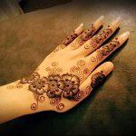Фото Мехенди на ладони - 17062017 - пример - 014 Mehendi in the palm of your hand