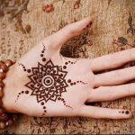 Фото Мехенди на ладони - 17062017 - пример - 015 Mehendi in the palm of your hand
