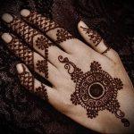 Фото Мехенди на ладони - 17062017 - пример - 016 Mehendi in the palm of your hand