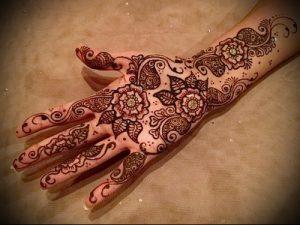 Фото Мехенди на ладони - 17062017 - пример - 017 Mehendi in the palm of your hand