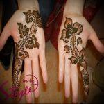 Фото Мехенди на ладони - 17062017 - пример - 018 Mehendi in the palm of your hand