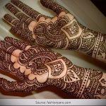 Фото Мехенди на ладони - 17062017 - пример - 019 Mehendi in the palm of your hand