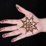 Фото Мехенди на ладони - 17062017 - пример - 022 Mehendi in the palm of your hand