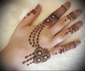 Фото Мехенди на ладони - 17062017 - пример - 024 Mehendi in the palm of your hand