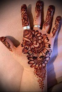 Фото Мехенди на ладони - 17062017 - пример - 026 Mehendi in the palm of your hand