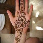 Фото Мехенди на ладони - 17062017 - пример - 027 Mehendi in the palm of your hand