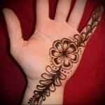 Фото Мехенди на ладони - 17062017 - пример - 030 Mehendi in the palm of your hand