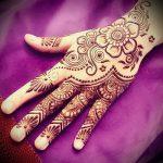 Фото Мехенди на ладони - 17062017 - пример - 031 Mehendi in the palm of your hand