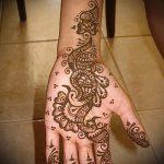 Фото Мехенди на ладони - 17062017 - пример - 032 Mehendi in the palm of your hand