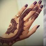 Фото Мехенди на ладони - 17062017 - пример - 033 Mehendi in the palm of your hand