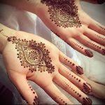 Фото Мехенди на ладони - 17062017 - пример - 034 Mehendi in the palm of your hand