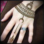 Фото Мехенди на ладони - 17062017 - пример - 035 Mehendi in the palm of your hand