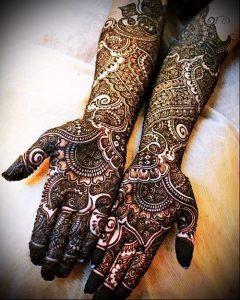 Фото Мехенди на ладони - 17062017 - пример - 037 Mehendi in the palm of your hand