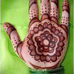 Фото Мехенди на ладони - 17062017 - пример - 038 Mehendi in the palm of your hand