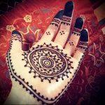 Фото Мехенди на ладони - 17062017 - пример - 040 Mehendi in the palm of your hand