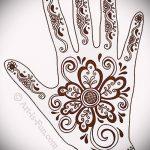 Фото Мехенди на ладони - 17062017 - пример - 041 Mehendi in the palm of your hand