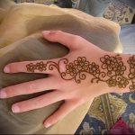 Фото Мехенди на ладони - 17062017 - пример - 044 Mehendi in the palm of your hand