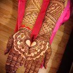 Фото Мехенди на ладони - 17062017 - пример - 046 Mehendi in the palm of your hand
