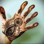 Фото Мехенди на ладони - 17062017 - пример - 047 Mehendi in the palm of your hand
