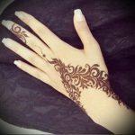 Фото Мехенди на ладони - 17062017 - пример - 048 Mehendi in the palm of your hand