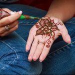 Фото Мехенди на ладони - 17062017 - пример - 049 Mehendi in the palm of your hand