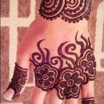 Фото Мехенди на ладони - 17062017 - пример - 050 Mehendi in the palm of your hand