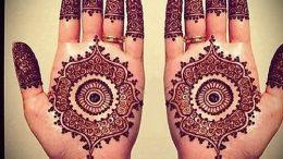 Фото Мехенди на ладони - 17062017 - пример - 052 Mehendi in the palm of your hand