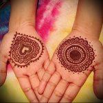 Фото Мехенди на ладони - 17062017 - пример - 053 Mehendi in the palm of your hand