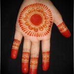 Фото Мехенди на ладони - 17062017 - пример - 056 Mehendi in the palm of your hand