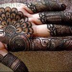 Фото Мехенди на ладони - 17062017 - пример - 057 Mehendi in the palm of your hand