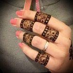 Фото Мехенди на ладони - 17062017 - пример - 060 Mehendi in the palm of your hand