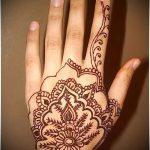 Фото Мехенди на ладони - 17062017 - пример - 061 Mehendi in the palm of your hand