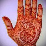 Фото Мехенди на ладони - 17062017 - пример - 063 Mehendi in the palm of your hand