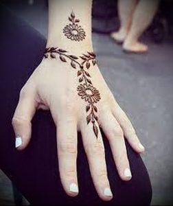 Фото Мехенди на ладони - 17062017 - пример - 064 Mehendi in the palm of your hand