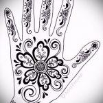 Фото Мехенди на ладони - 17062017 - пример - 065 Mehendi in the palm of your hand