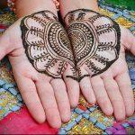 Фото Мехенди на ладони - 17062017 - пример - 066 Mehendi in the palm of your hand