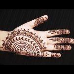 Фото Мехенди на ладони - 17062017 - пример - 068 Mehendi in the palm of your hand