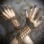 Фото Мехенди на ладони - 17062017 - пример - 070 Mehendi in the palm of your hand