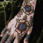 Фото Мехенди на ладони - 17062017 - пример - 071 Mehendi in the palm of your hand