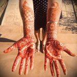 Фото Мехенди на ладони - 17062017 - пример - 073 Mehendi in the palm of your hand