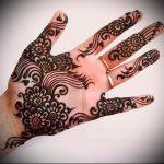 Фото Мехенди на ладони - 17062017 - пример - 074 Mehendi in the palm of your hand