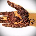 Фото Мехенди на ладони - 17062017 - пример - 076 Mehendi in the palm of your hand