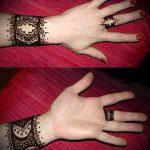 Фото Мехенди на ладони - 17062017 - пример - 078 Mehendi in the palm of your hand