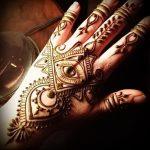 Фото Мехенди на ладони - 17062017 - пример - 079 Mehendi in the palm of your hand