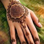Фото Мехенди на ладони - 17062017 - пример - 080 Mehendi in the palm of your hand
