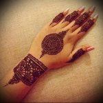 Фото Мехенди на ладони - 17062017 - пример - 081 Mehendi in the palm of your hand