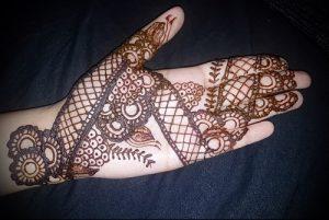 Фото Мехенди на ладони - 17062017 - пример - 082 Mehendi in the palm of your hand