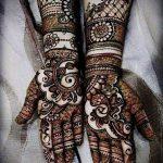 Фото Мехенди на ладони - 17062017 - пример - 083 Mehendi in the palm of your hand