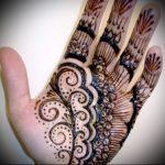 Фото Мехенди на ладони - 17062017 - пример - 086 Mehendi in the palm of your hand